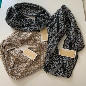 NWT Micheal Kors infinity scarves